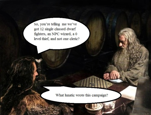 Gandalf and Thorin
